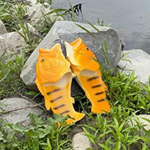 【ギョギョ】お魚サンダル メンズ PVC 夏 サンダル 面白い