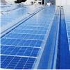 太陽光発電  店舗建物(屋根面)